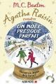 Couverture Agatha Raisin enquête, tome 18 : Un Noël presque parfait Editions Albin Michel 2019