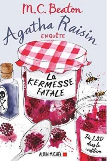 Couverture Agatha Raisin enquête, tome 19 : La kermesse fatale