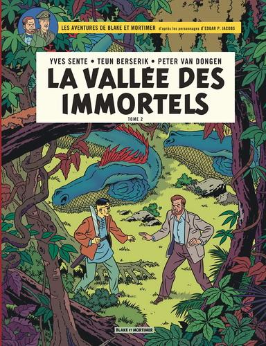 Couverture Blake et Mortimer, tome 26 : La vallée des immortels, partie 2
