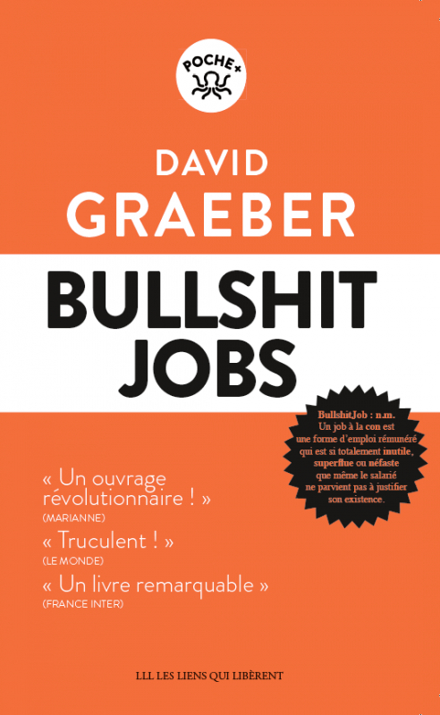 Couverture Bullshit Jobs
