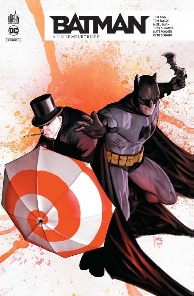 Couverture Batman Rebirth, tome 09 : L'aile meurtrière