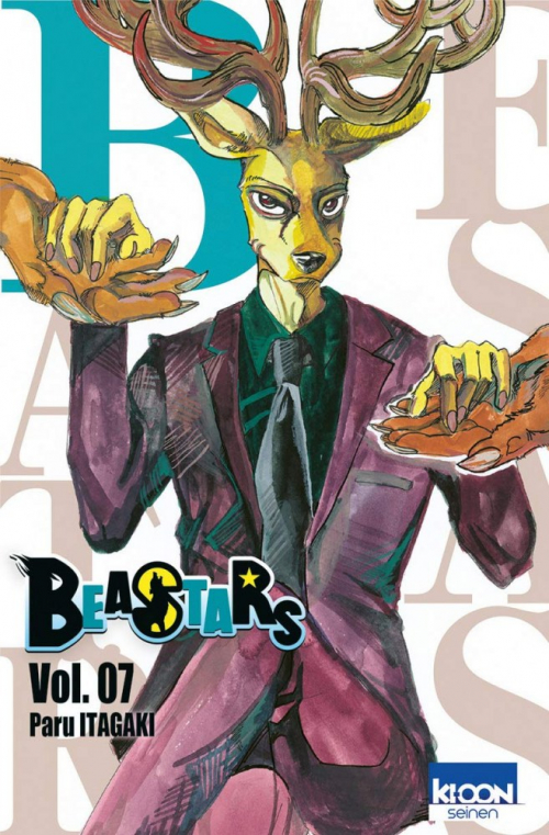 Couverture Beastars, tome 7
