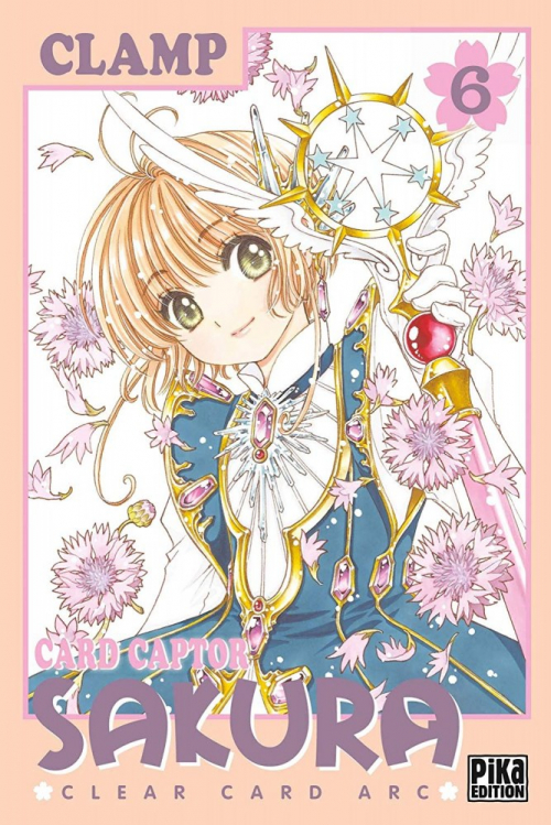 Couverture Card Captor Sakura : Clear Card Arc, tome 6