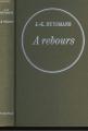 Couverture À rebours Editions Fasquelle 1974