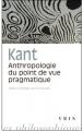 Couverture Anthropologie du point de vue pragmatique Editions Vrin 1991