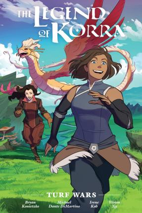 Couverture The Legend of Korra: Turf Wars, Library Edition
