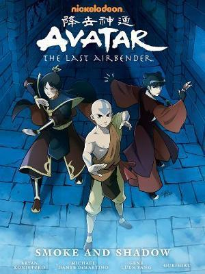 Couverture Avatar: The Last Airbender: Smoke and Shadow, Library Edition
