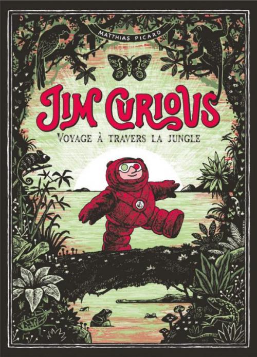 Couverture Jim Curious, tome 2 : voyage à travers la jungle