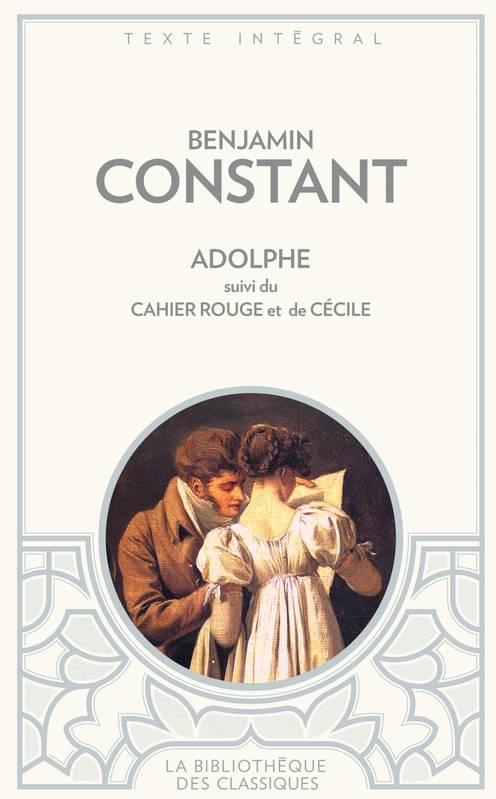 Couverture Adolphe, Le Cahier rouge, Cécile