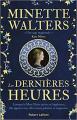 Couverture Les Dernières heures Editions Robert Laffont 2019