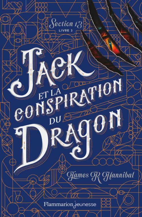 Couverture Section 13, tome 3 : Jack et la conspiration du dragon