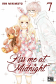 Couverture Kiss me at midnight, tome 07 Editions Pika (Shôjo - Cherry blush) 2019