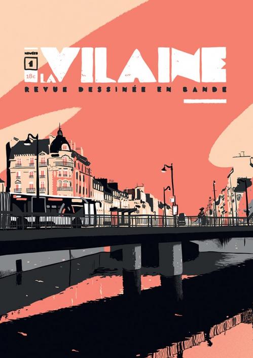 Couverture La Vilaine [revue], tome 1