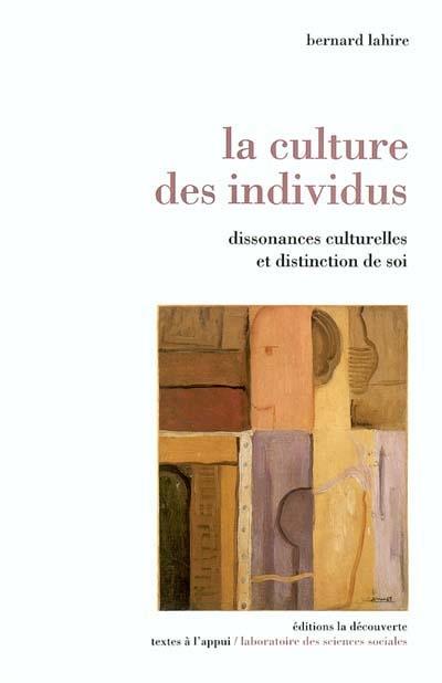 Couverture La culture des individus