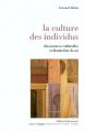 Couverture La culture des individus Editions La découverte (Poche) 2006