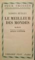Couverture Le Meilleur des mondes Editions Plon (Feux croisés) 1955