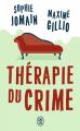 Couverture Thérapie du crime Editions J'ai Lu (Thriller) 2019