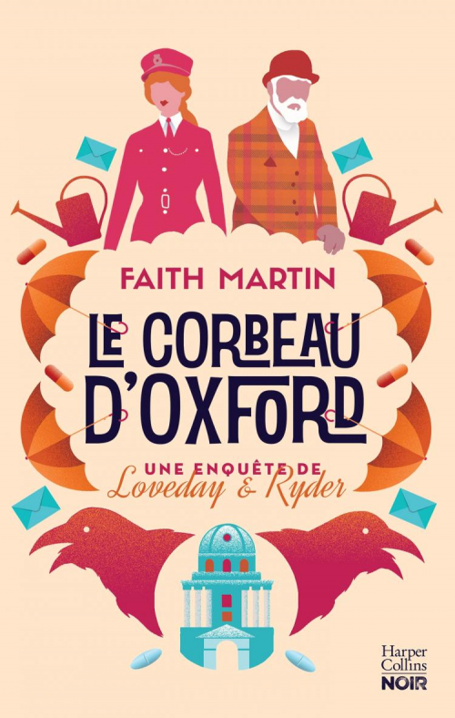 Couverture Loveday & Ryder, tome 1 : Le corbeau d'Oxford