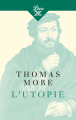 Couverture L'utopie Editions Librio (Philosophie) 2018