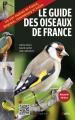 Couverture Le Guide des oiseaux de France Editions Belin 2017