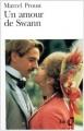 Couverture Un amour de Swann Editions Folio  1984