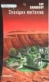 Couverture Chroniques martiennes Editions Denoël (Présence du futur) 1997