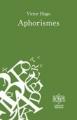Couverture Aphorismes Editions Ivres de Livres 2010