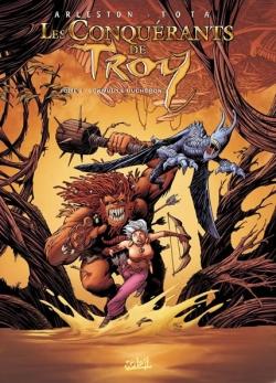 Couverture Les Conquérants de Troy, tome 2 : Eckmül le bûcheron