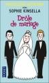 Couverture Drôle de mariage Editions Pocket 2011