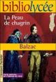 Couverture La peau de chagrin Editions Hachette (Biblio lycée) 2004