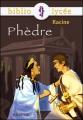 Couverture Phèdre Editions Hachette (Biblio lycée) 2007
