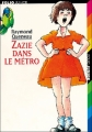 Couverture Zazie dans le métro Editions Folio  (Junior) 2005