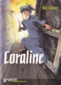 Couverture Coraline Editions France Loisirs (Graffiti) 2004