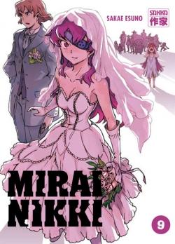 Couverture Mirai Nikki, tome 09