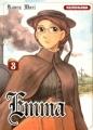 Couverture Emma, tome 03 Editions Kurokawa (Shôjo) 2007