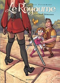 Couverture Le royaume (BD), tome 2 : Les deux princesses