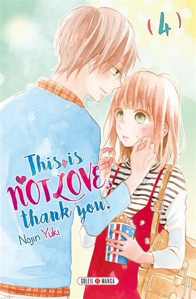 Couverture This is not love, thank you., tome 4