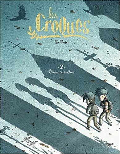 Couverture Les Croques, tome 2 : Oiseaux de malheur