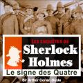 Couverture Le signe des quatre / Le signe des 4 Editions Audible studios 2011