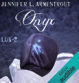 Couverture Lux, tome 2 : Onyx Editions Audible studios 2019