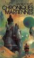 Couverture Chroniques martiennes Editions Gallimard  (1000 soleils) 1980