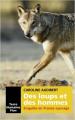 Couverture Des loups et des hommes Editions Plon (Terre humaine) 2018