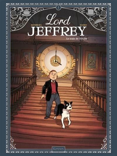 Couverture Lord Jeffrey, tome 1 : Le train de 16h54