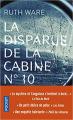 Couverture La disparue de la cabine n° 10 Editions Pocket (Thriller) 2019