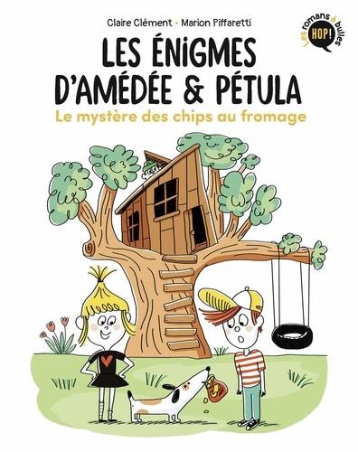 Couverture Les énigmes d'Amédée & Pétula, 1 : Le mystère des chips au fromage