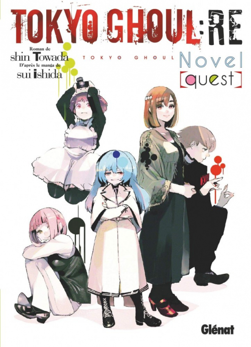 Couverture Tokyo ghoul:RE novel, tome 1 : Quest