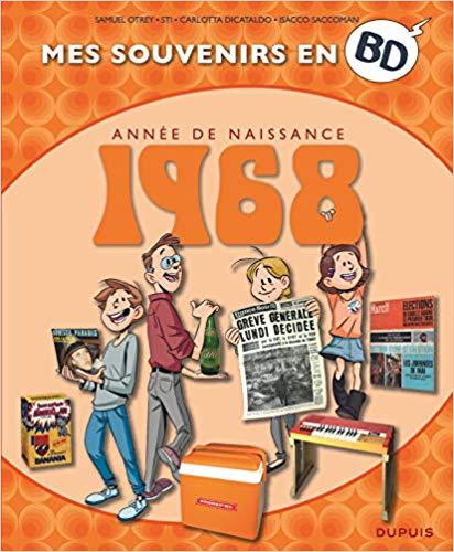 Couverture Mes souvenirs en BD : Année de naissance 1968