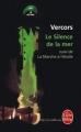 Couverture Le silence de la mer Editions Albin Michel 2007