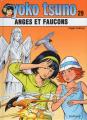 Couverture Yoko Tsuno, tome 29 : Anges et Faucons Editions Dupuis 2019