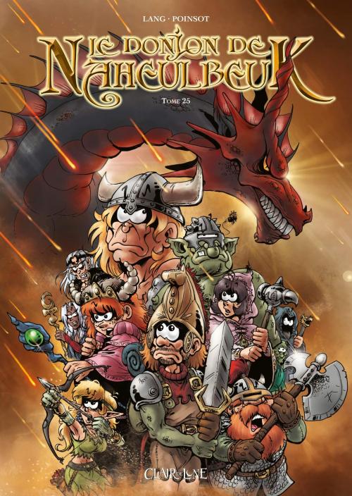 Couverture Le donjon de Naheulbeuk (BD) - Premier Cycle, tome 25 : Sixième saison, partie 7